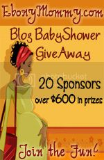 Ebonymommy.com Blog Baby Shower Giveaway